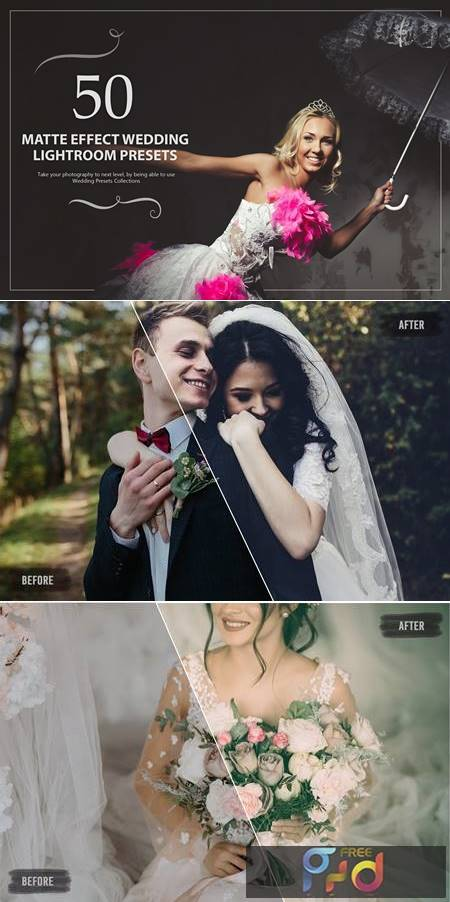 50 Matte Effect Wedding Presets 5784161 1