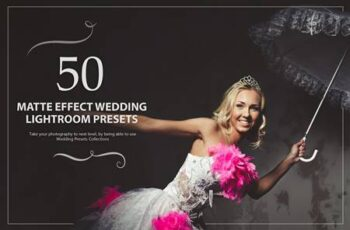 50 Matte Effect Wedding Presets 5784161 7