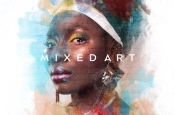 Mixed Art Photo Effect 5868897 16