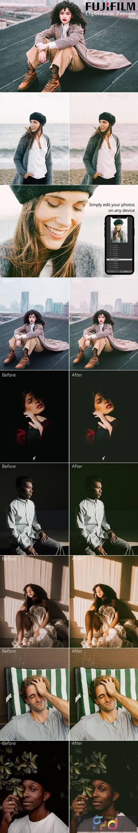 Fujifilm Lightroom Presets Bundle 5819223 1