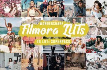 Filmora LUTs SuperPack - 20 LUTs 5752559 7