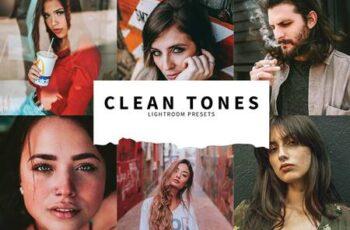 10 Clean Tones Lightroom Presets 5808528 4