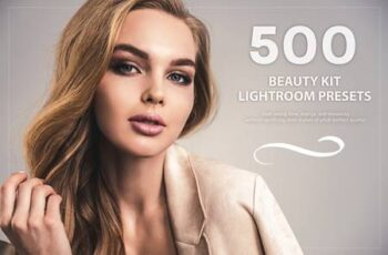 500 Beauty Kit Lightroom Presets 5776914 4