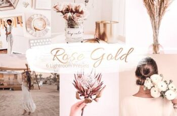 Rose Gold Collection - Lr Presets 5842160 3