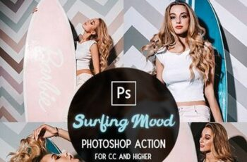 Surfing Mood - Photoshop Action 29882964 2