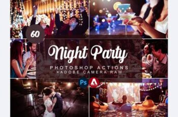 Night Party Photoshop Actions 7504560 3