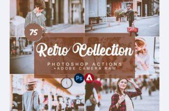 Retro Photoshop Actions 7505339 2
