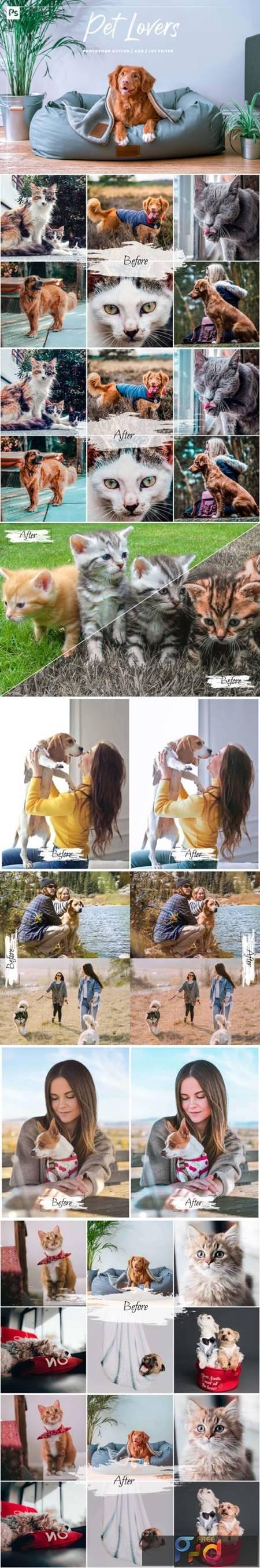 10 Pet Lovers Photoshop Action 8692472 1