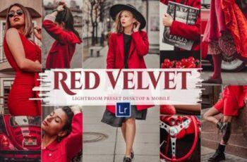 10 Red Velvet Mobile & Lightroom Presets 8719463 5