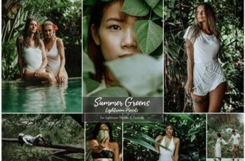 Summer Greens Lightroom Preset 5152500 6