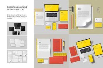 Branding Mockup Scene Creator 5827713 5