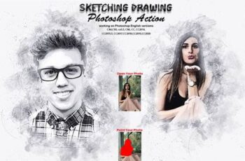 Sketching Drawing Photoshop Action 5737073 3