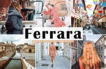 Ferrara Lightroom Presets Pack 5014442 5