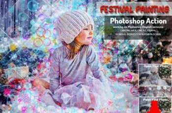 Festival Painting Photoshop Action 5710845 2