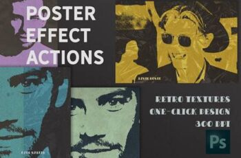 Poster Retro Color Effect Photoshop 4889884 8