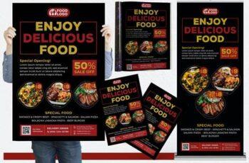 Restaurant #01 Print Templates Pack 326L9NV 2