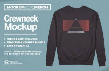 Crewneck Sweatshirt Mockup 5725232 6
