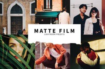 10 Matte Film Lightroom Presets 5857413 6