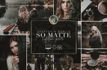 SO MATTE - Lightroom Presets 5769101 2