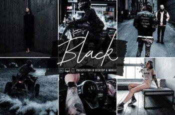 Black Lightroom Preset Collection 5832681 2