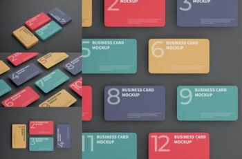 Business Card Mockup 7GLNHBJ 11