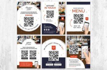 QR Code - Contact Flyer for Restaurant WR2K5JG 6