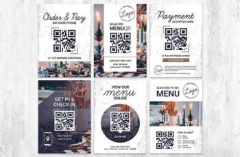 QR Code Flyer for Restaurant VB5PPQ3 5