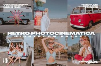 RETRO PHOTOCINEMATICA LR PRESET 5042395 6