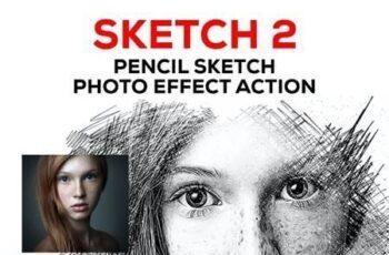 Sketch V2 - Pencil Sketch One Click Action 30298741 16