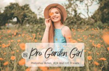 10 Pro Garden Girl Photoshop Actions 8754487 6