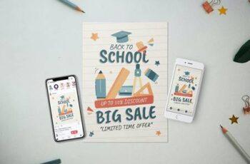 Back To School - Flyer Media Kit PT9F7MC 6