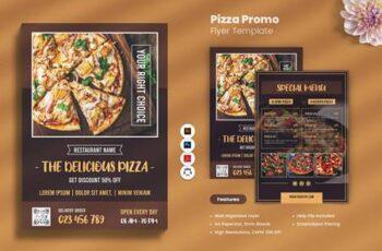 Pizza Promo Flyer UMCQUWE 6