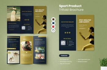 Sport Product Trifold Brochure 4T7BMY2 7