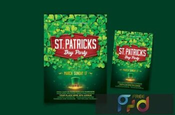 St Patrick's Day Party Flyer N2TG5SA 6