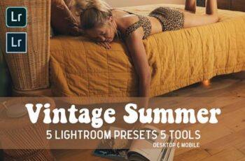 Vintage Summer Lightroom Presets 5045343 4