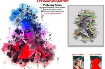 Art Canvas Painting Photoshop Action 5758027 14