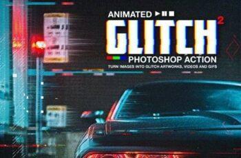 Animated Glitch 2 - Photoshop Action 30818518 6