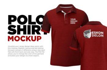 Polo Shirt Mockup 5894833 7