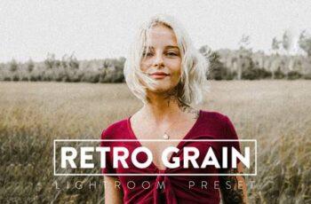 10 Retro Grain Lightroom Preset 4VB2TJE 4