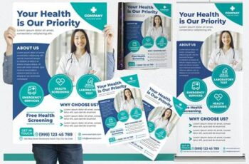 Medical #06 Print Templates Pack 26R6M2A 6