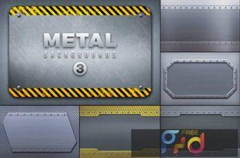 Metal Backgrounds Col3 U49AHUP 3
