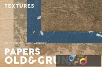 Old & Grunge Paper Textures 3 DG727UQ 14