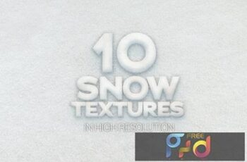 Snow Textures x10 XYZLLPF 4