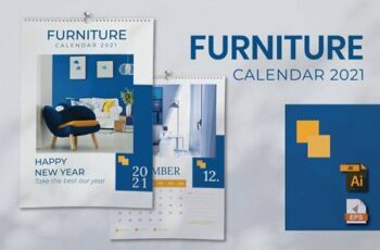 Calendar Furniture 2021 A3 9E43TSD 7