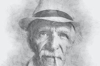 Portrait Sketch Photoshop Action 30027707 14