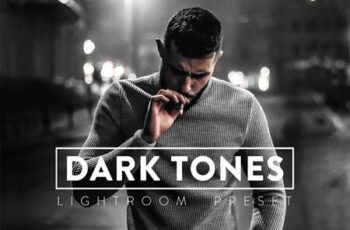 10 Dark Tones Lightroom Presets 9TWYL6D 2