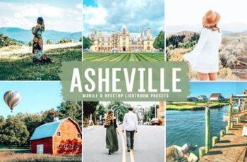 Asheville Mobile & Desktop Lightroom Presets 3BENP5E 3