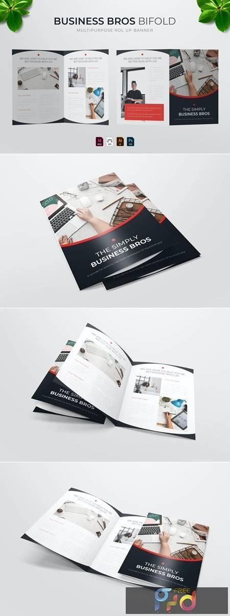 Business Bros - Bifold Brochure K5VF9YH 1