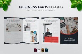 Business Bros - Bifold Brochure K5VF9YH 3
