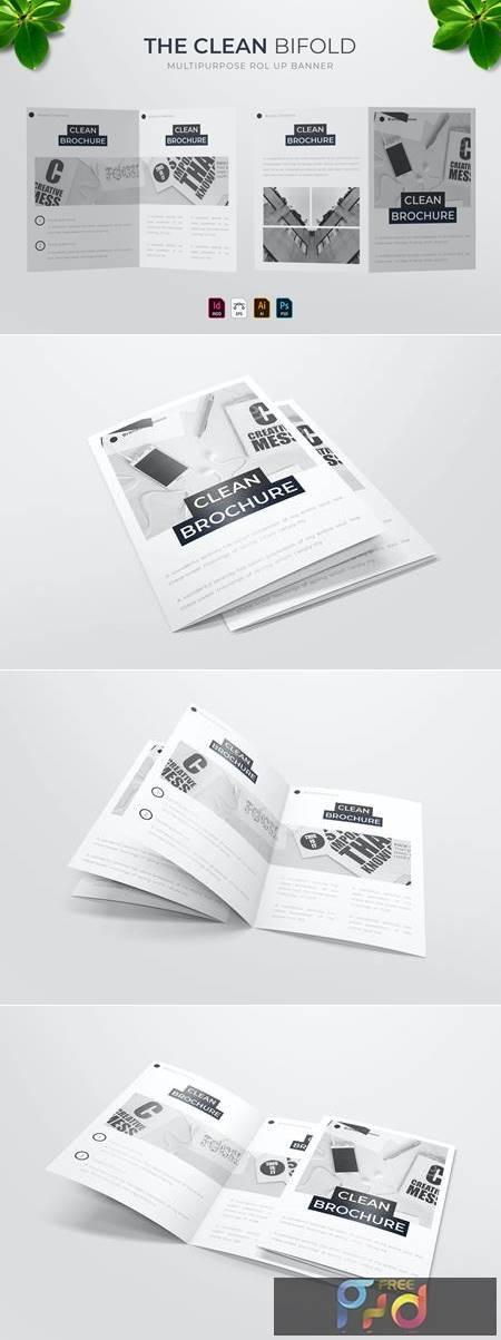 Clean - Bifold Brochure TKV9FCZ 1